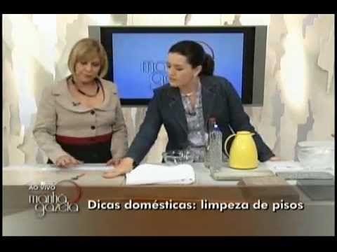 DICAS PARA LIMPEZA DE PISOS - PARTE 1