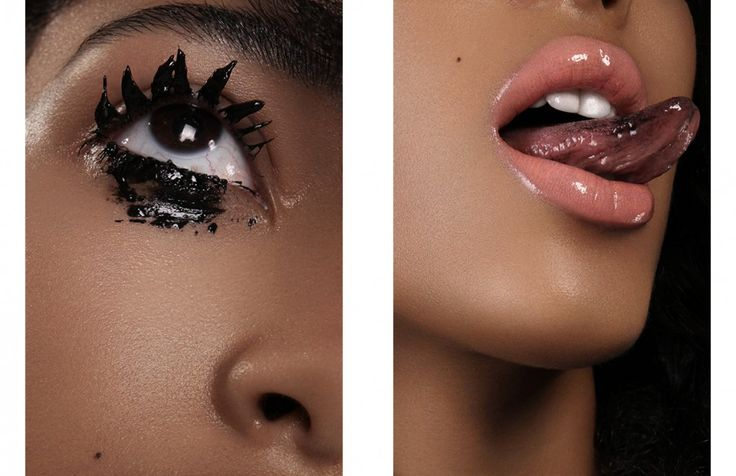 MAC in Extreme Dimension 3D Black Lash MAC Clear Gloss Opposite YSL Rouge Volupté in 13 Peach Passion Clinique Long Last Glosswear in Devoted