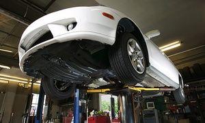 Groupon - $ 169 en vez de $550 por alineación y balanceo + rotación + chequeo tren delantero y trasero + revisión en AMJ Neumáticos en Neumáticos AMJ SA. Precio de la oferta Groupon: $169