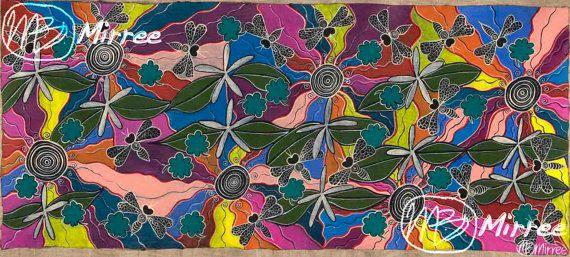 Ancestral Bees ORIGINAL PAINTING by Mirree by DreamsofCreationAust