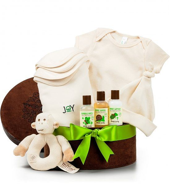 12 best organic baby gift baskets images on pinterest baby gift pure baby organic gift set negle Choice Image