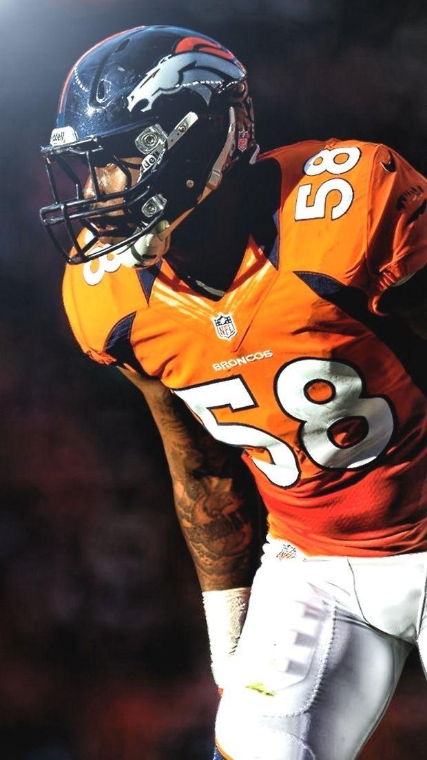 iPhone Wallpaper HD Von Miller Denver Broncos is the best ...