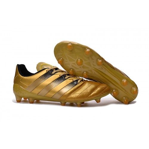 Adidas Ace 16.3 FG AG Mens Soccer Cleats Gold Black