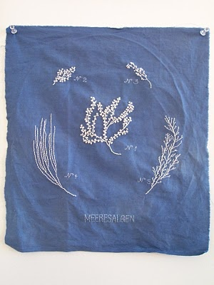 embroider collections of plants