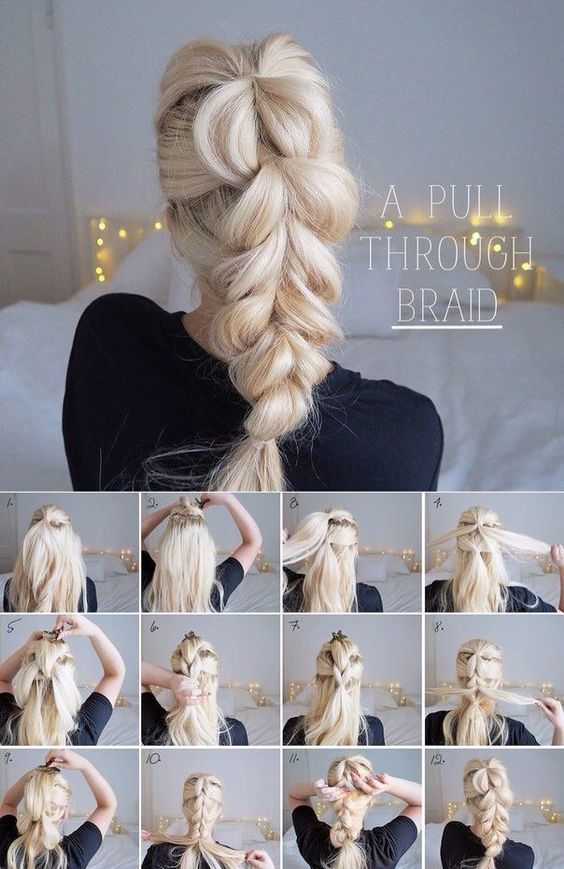 21 ideas for braids quick and easy to make Easy and simple hairstyle