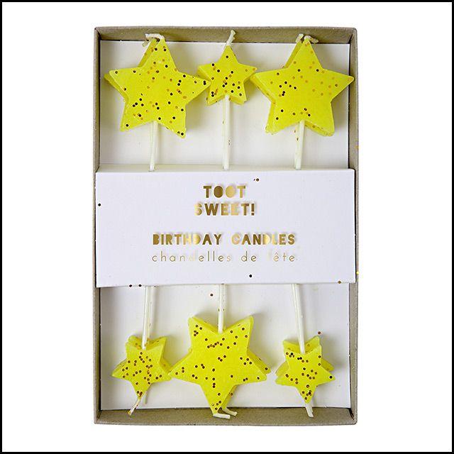 Meri Meri Toot Sweet Birthday Candles, $8.95