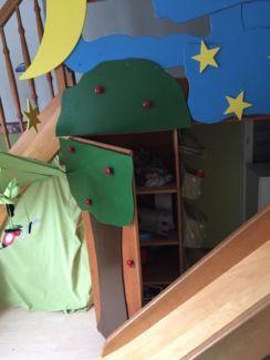 Ein Tolles Massives Bett Für Kinder In Rheinland Pfalz   Mutterstadt    Babywiege Gebraucht Kaufen