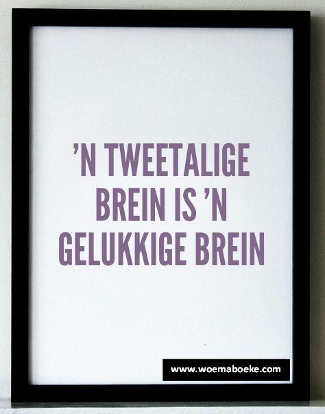 Afrikaans addisionele taal maak jou brein slim