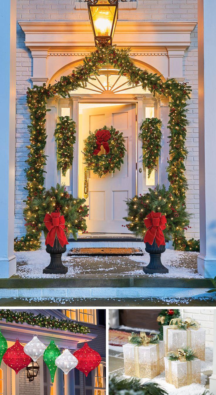 25+ unique Outside christmas decorations ideas on ...