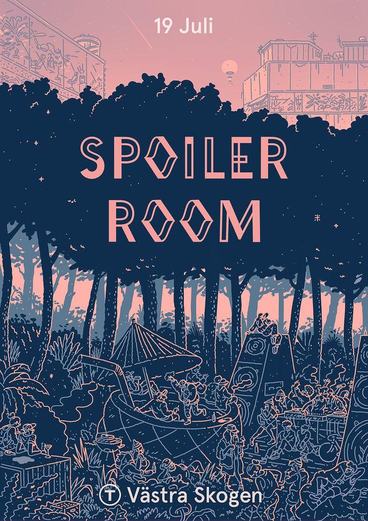 Spoiler Room on Behance