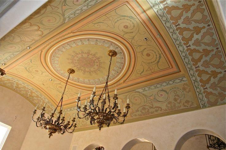 So many wonderful patterns ~ By Karin Linder: Ceiling Design, Ceilings Details, Ceilings Design, Ceilings Inspiration, Ceilings Paintings, Barrels Ceilings, Amazing Ceilings, Ceilings Ideas, Ceilings Decor