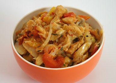 6-Step Recipe for Caribbean Fried Salt Fish: Fried (sauteed) Salt Fish