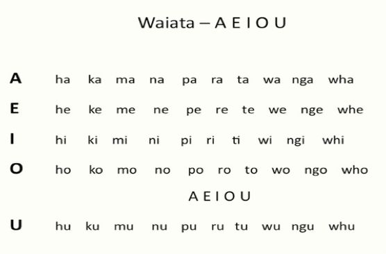 Springston Te Reo : Vowels and consonants - get them right!