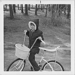 banana seat and basket...oh, and the fur lined hood! My bike was purple...was so proud of it !