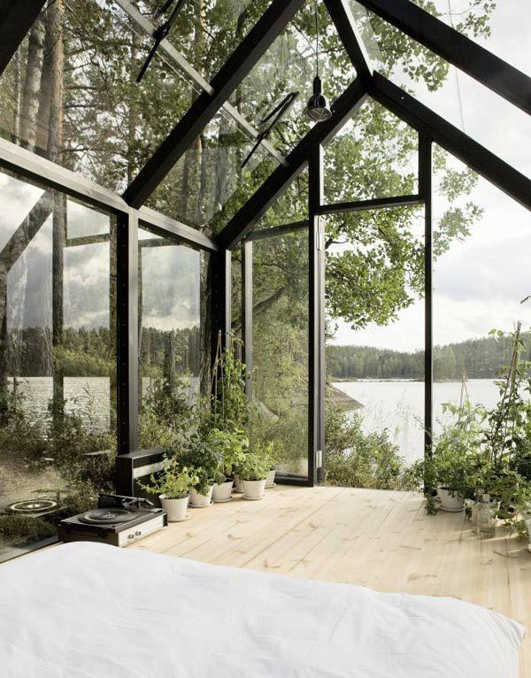 ismosso:    prefab garden shed from kekkilä garden   (this garden shed by Ville Hara and Linda Bergroth for Kekkilä Garden)