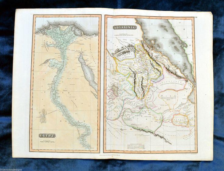 Best Ethiopia Map Images On Pinterest Ethiopia Abyssinian - Map of egypt ethiopia