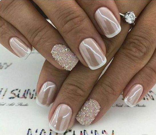 60+ Wedding Nail Art For Brides Ideas   – Nails
