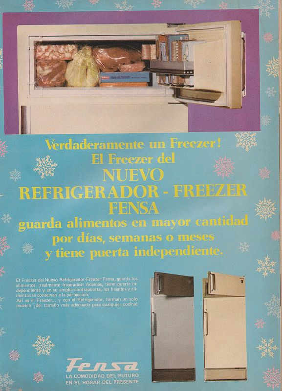 Refrigeradores FENSA, Publicidad