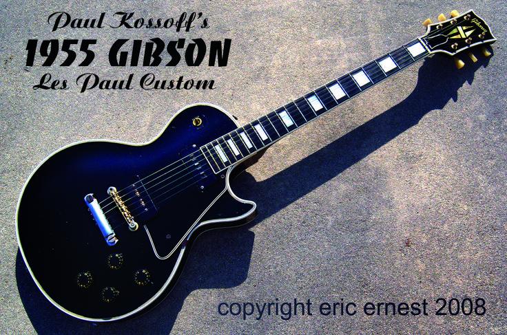 Paul Kossoff's 1955 Les Paul Custom