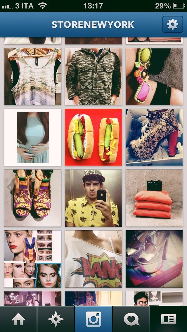 store new york and instagram