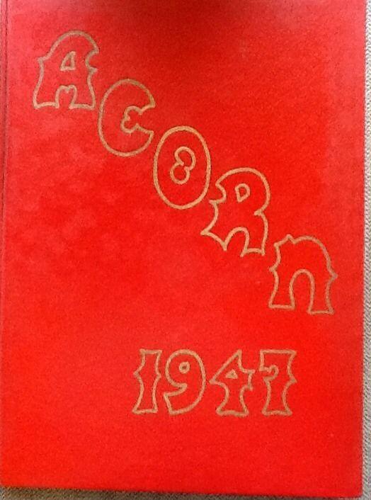 "1947 ""Acorn"" Yearbook from Alameda High School, Alameda, CA"