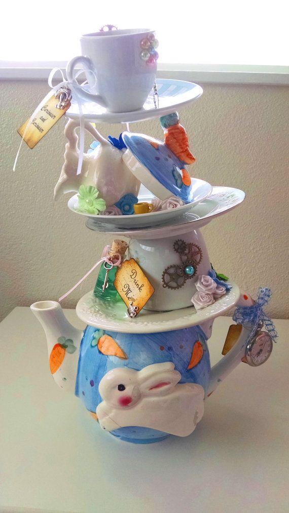 Best wonderland centerpieces images on pinterest mad
