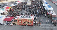 Off the Grid San Francisco.  the ultimate street food experience.