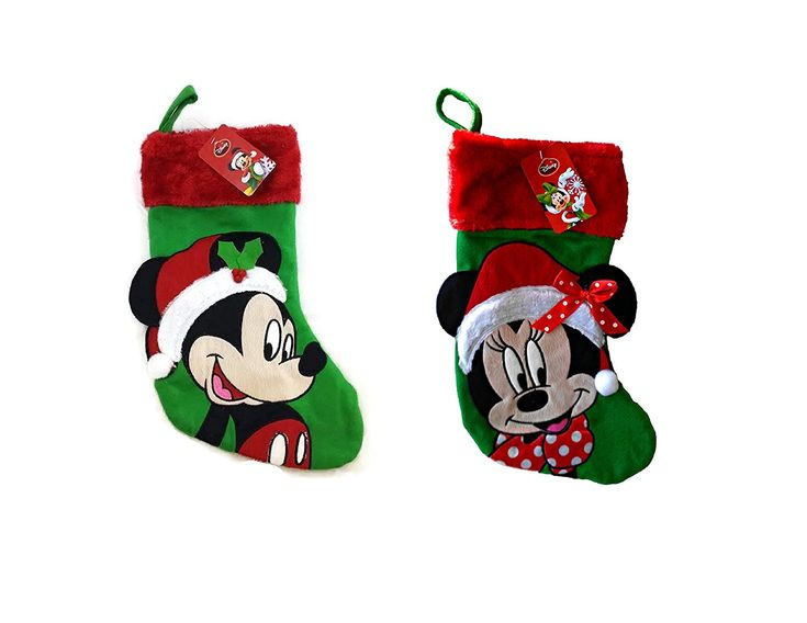 This Disney Christmas Stocking Pair is Sweeter than Sugar Plums
