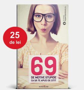 """Ce spun coautorii cărții """"69 de motive stupide ca să te apuci de citit"""" despre primul proiect editorial Hyperliteratura"""