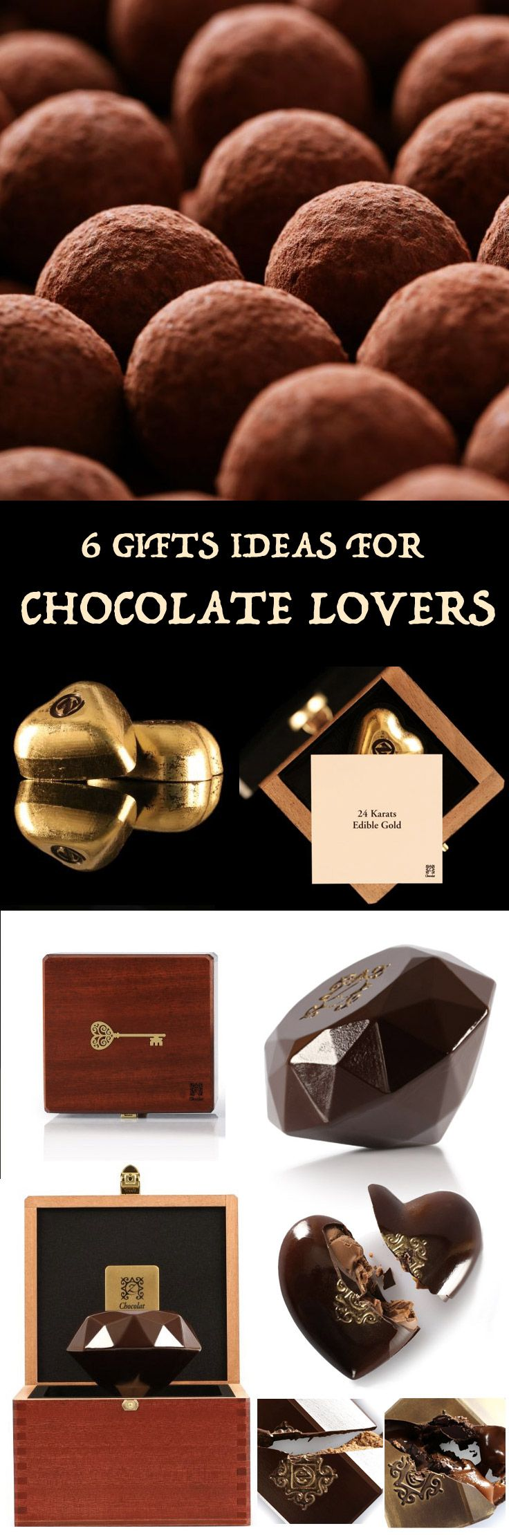 TOP 6 GIFTS IDEAS FOR CHOCOLATE LOVERS