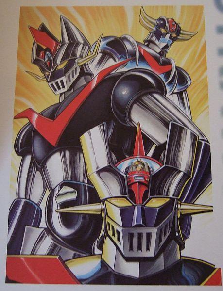 Mazinger Z, Great Mazinger and Ufo Robot Grendizer