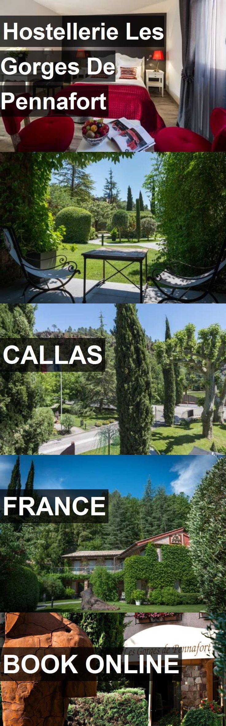 Hotel Hostellerie Les Gorges De Pennafort in Callas, France. For more information, photos, reviews and best prices please follow the link. #France #Callas #HostellerieLesGorgesDePennafort #hotel #travel #vacation