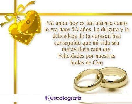 Frases Para Las Bodas De Oro Torta Dorada Pinterest Wedding
