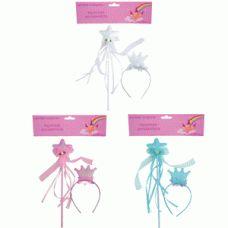 Princess Wand & Headband Pack