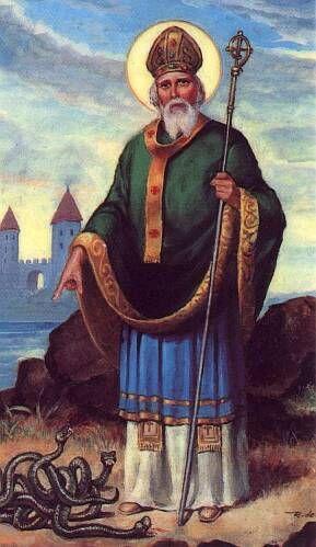 Saint Patrick died today, 461A.D.