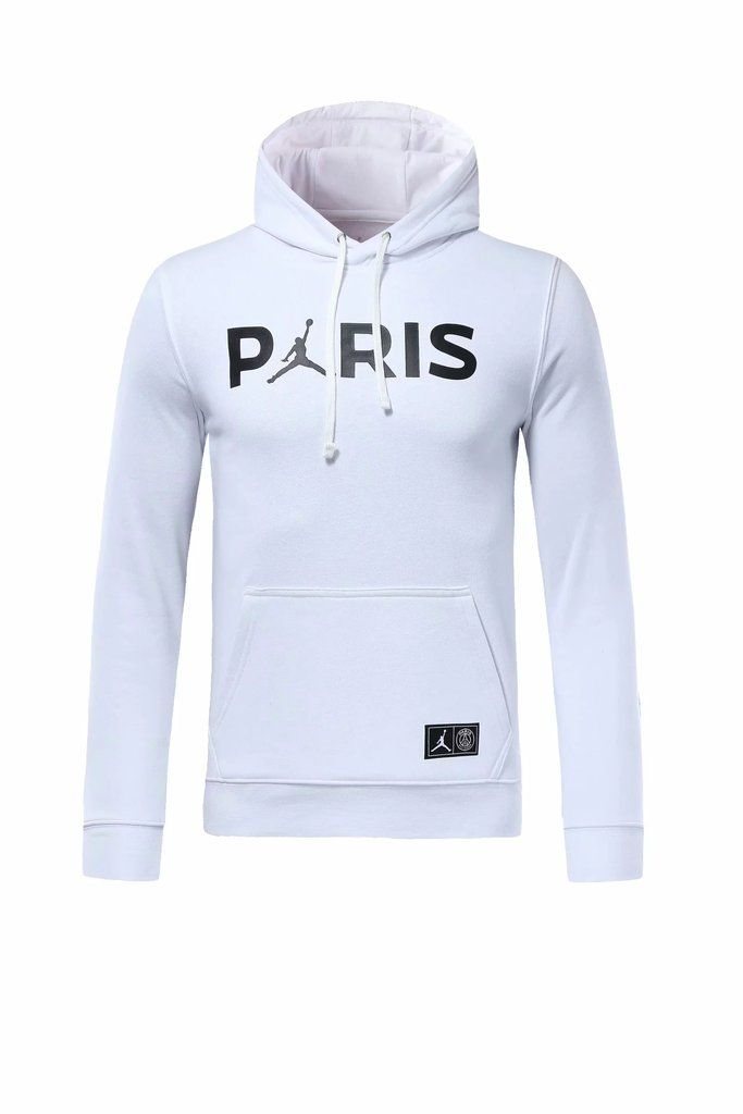65bed9487 PSG 18/19 Jordan White Sweatshirt | PSG | Jordans, Sweater hoodie ...