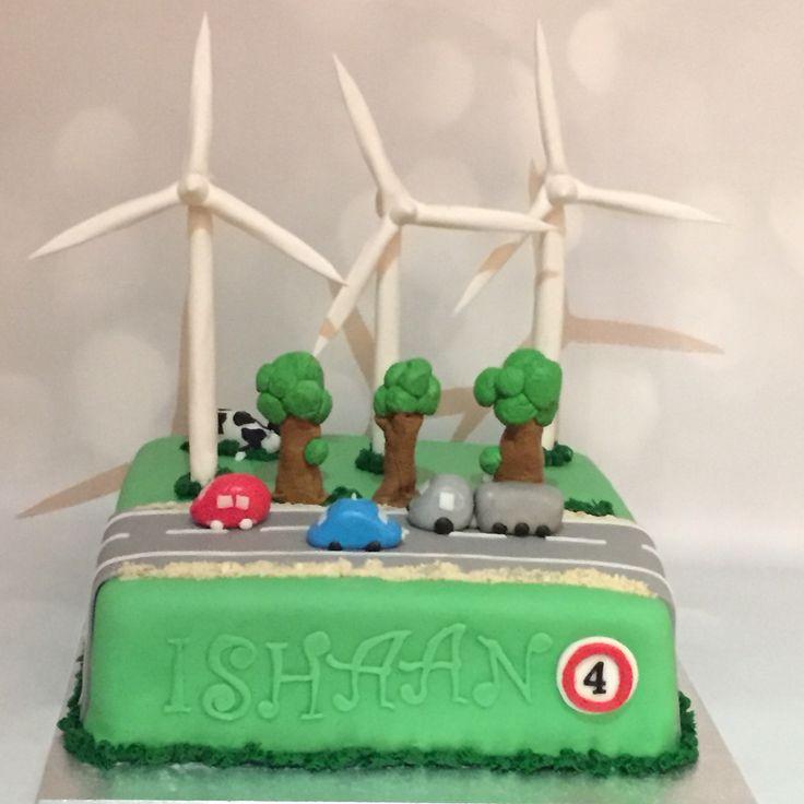 Windmolens taart