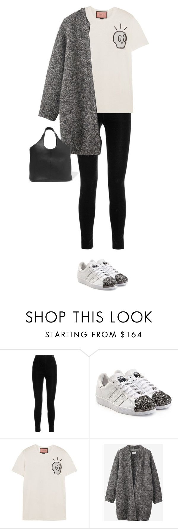 """""""4.958"""" by katrina-yeow ❤ liked on Polyvore featuring Balmain, adidas Originals, Gucci, Toast and Tom Ford"""