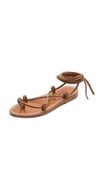 $225 K. Jacques Bikini Wrap Flat Sandals http://www.shopbop.com/bikini-wrap-flat-sandal-k/vp/v=1/1577719880.htm?folderID=2534374302024643colorId=16680extid=affprg_CJ_SB_US-1909792-ShopStyle.com-2178999