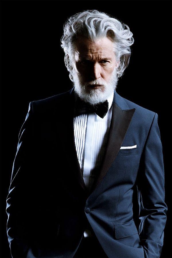 40 Modest Grey Beard Styles For Men