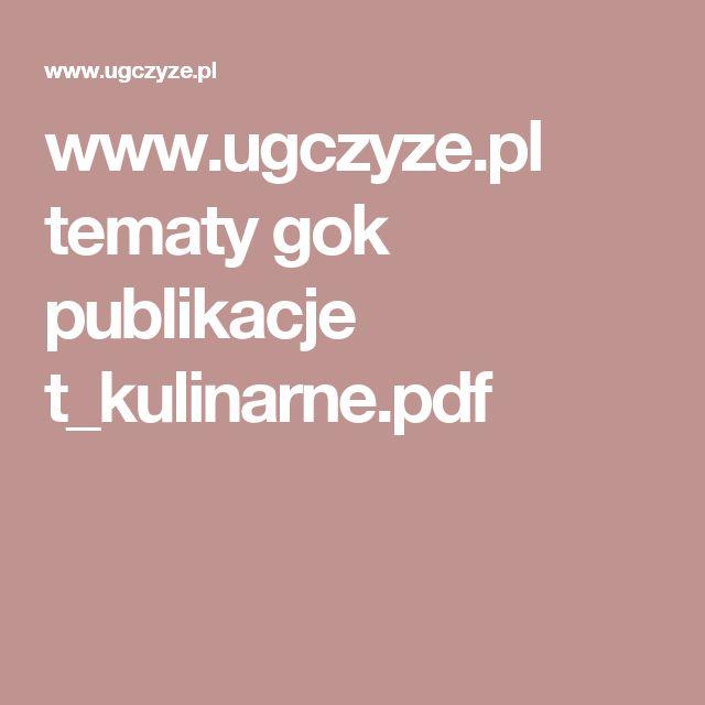 www.ugczyze.pl tematy gok publikacje t_kulinarne.pdf