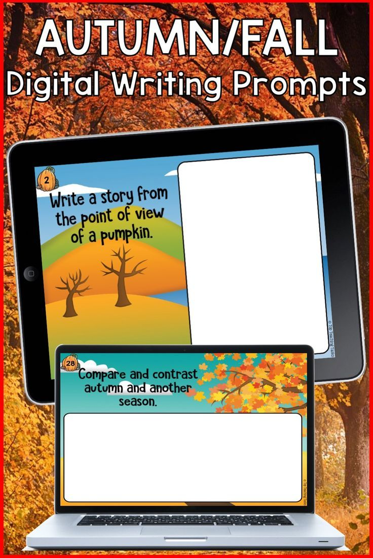 Go paperless with our Google Slides-ready autumn/fall writing prompts! Encourage independence with this easy to use writing activity pack featuring 30 persuasive argument writing prompts. Autumn and fall Writing Prompts for your digital classroom #autumnwriting #autumnwritingprompts #digitalautumnwriting #googleslides #fallwriting #fallwritingprompts