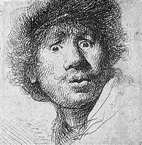 Rembrandt, Pintor Barroco (1606 - 1669) Holandés.