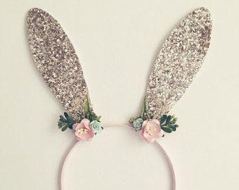 Diadema de conejito de Pascua / ajuste del orejas de conejo