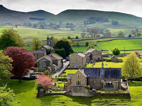 Vilage of Hebden, North Yorkshire