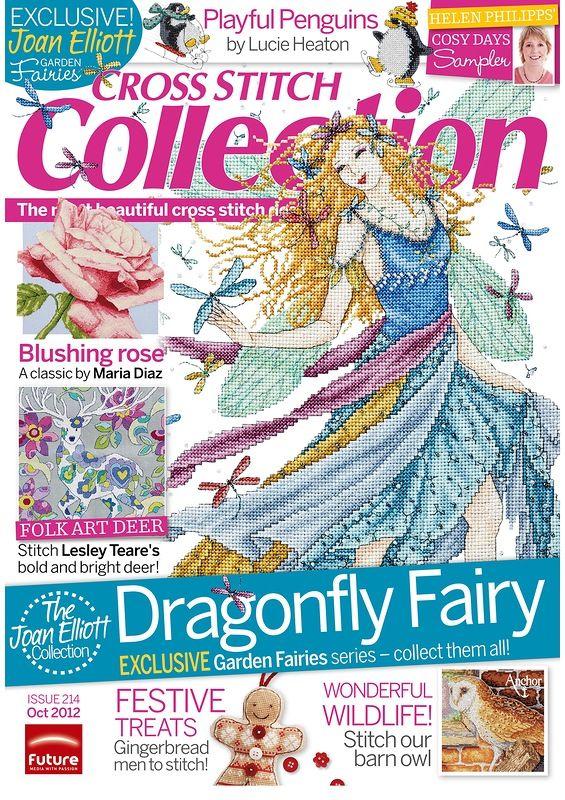 Cross Stitch Collection 214 octobre 2012. Обсуждение на LiveInternet - Российский Сервис Онлайн-Дневников