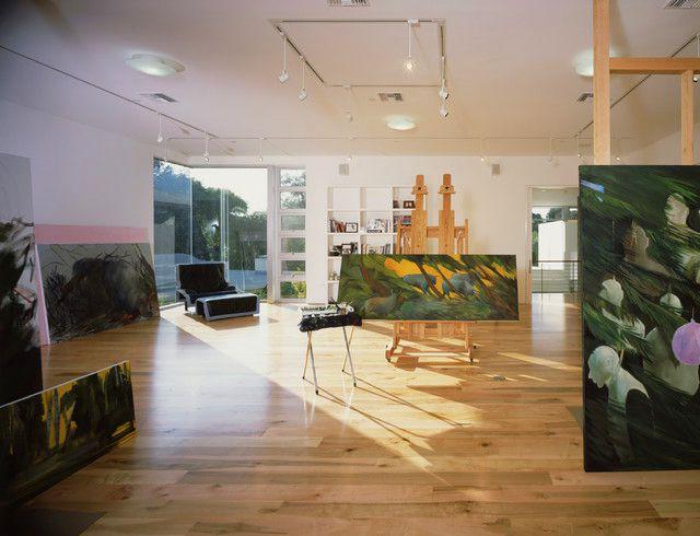 Modern Cool Home Art Studio Design
