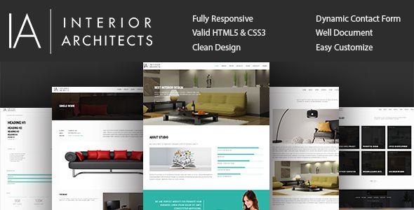Interior Design & Architecture Template | Stylelib