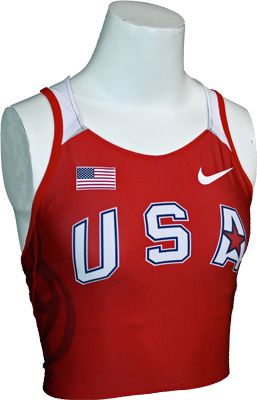 Nike USATF Women's Official '08 Airborn Top