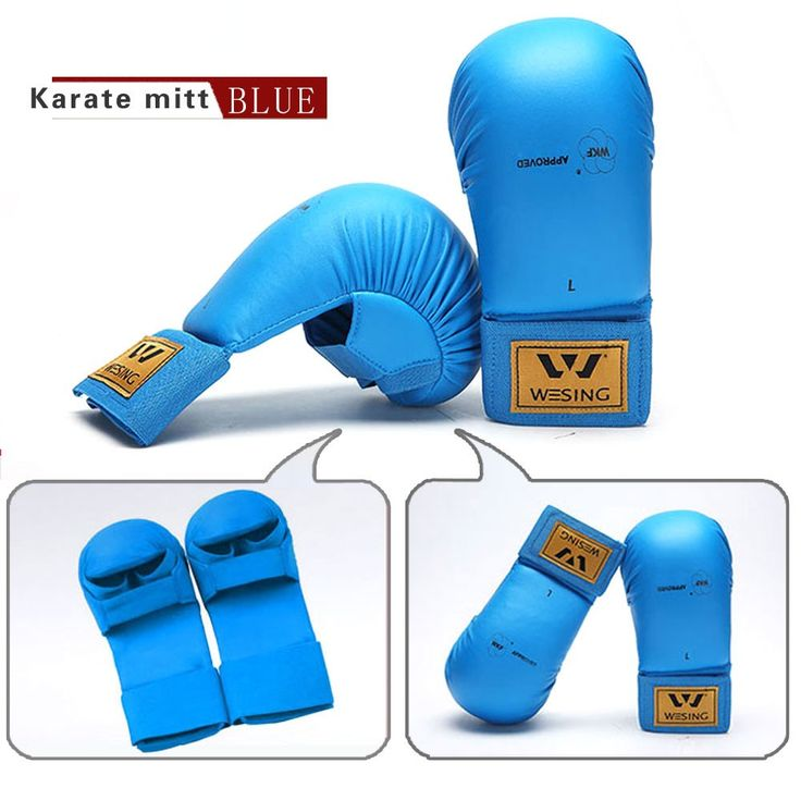 Wesing WKF Approved Protector Karate Gloves